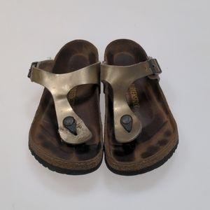 Birkenstock Brown Sandals Size 38